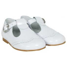 Shoes White Patent