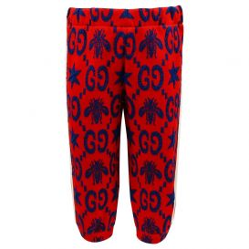 Gucci Jogging Bottoms Red
