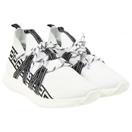 Trainers White Chunky Sole