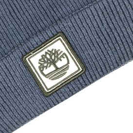 Pull On Knitted Hat Navy