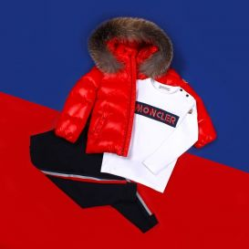 K2 Down Padded Hooded Jacket Red