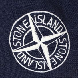 Stone Island Knitted Cap Navy