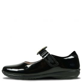 Poppy Shoes Black Patent Leather