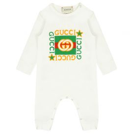 Gucci Vintage Star Logo All In One Ivory