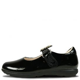 Poppy School Shoes Patent Leather Black