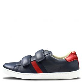Velcro Navy Trainers