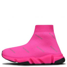 Repeat Logo Sock Trainers Pink
