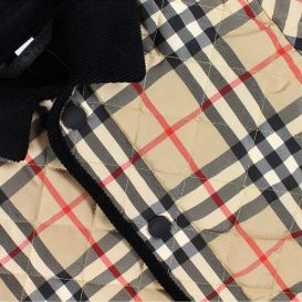 Culford Quilted Jacket Beige Check