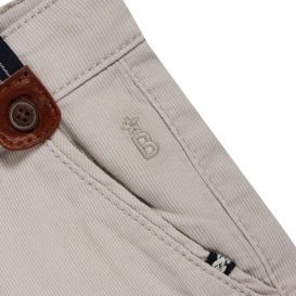 Chino Pants With Braces Beige