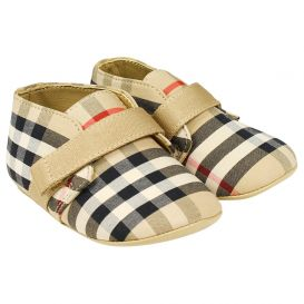 Burberry Charlton Shoes Beige Check