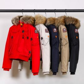 Parajumpers Gobi Down Bomber Jacket Red