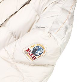 Parajumpers Girls Bambi Down Jacket Silver