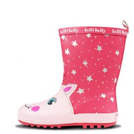 Unicorn Wellies Pink