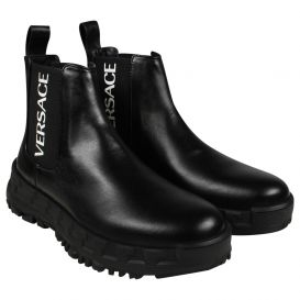 Chunky Sole Chelsea Boots Black