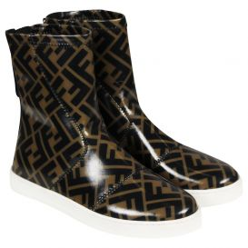 Logo Boots Brown