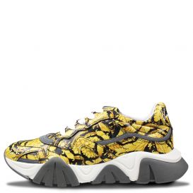 Chunky Barocco Trainers Gold & Black