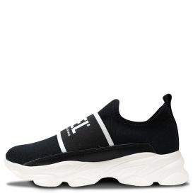 Low Slip On Trainers Black