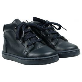High Top Trainers Navy
