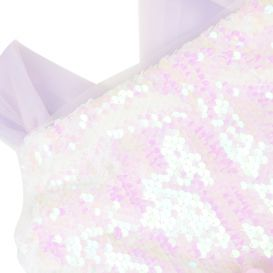 Sequin Tulle Dress Pink