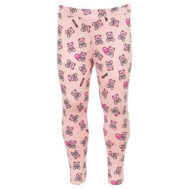Cotton Teddy Leggings Pink