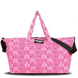 Repeat Logo Changing Bag Pink