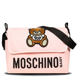 Logo Changing Bag Pink