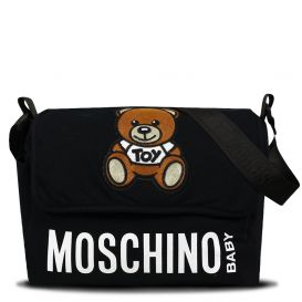 Logo Changing Bag Black