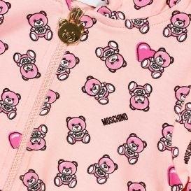 Repeat Logo Pink Baby Tracksuit