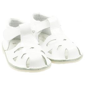 White Cut Out Shoes