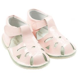 Pink Cut Out Shoes