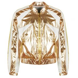 Jacket Metallic Gold & Rose Gold