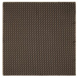 Repeat FF Blanket Brown