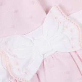 Baby Bow Coat Pink