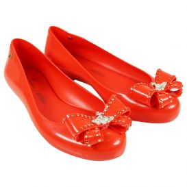 Sweet Bow Love Shoes Red
