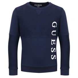 Side Logo Sweatshirt Navy