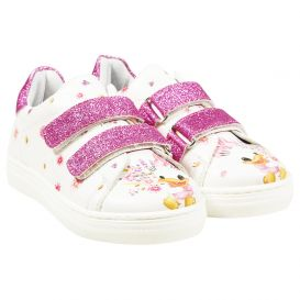 Daisy Duck Trainers Ivory