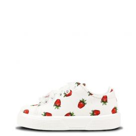 White Strawberry Trainers