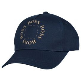 Navy Circle Logo Cap