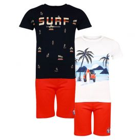 Three-Piece Surf Shorts Set