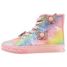 Unicorn Wing Sequin Multicoloured Boots
