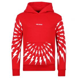 Thunderbolt Hoody Red