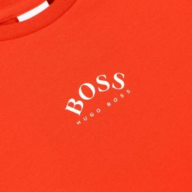 Slim Fit Small Logo Red T Shirt