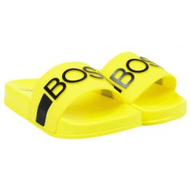 Yellow Embossed Sliders
