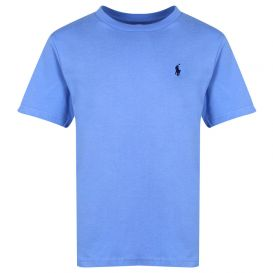 Blue Short Sleeve Logo T Shirt