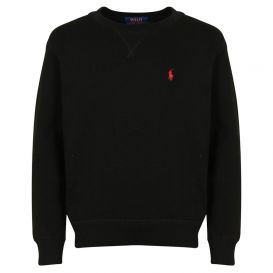 Small Logo Black Sweatshirt