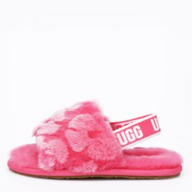 Infant Fluff Yeah Poppy Sandals Pink