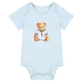 Blue Bear 2 Pack Rompers