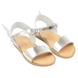 Silver Wings Sandals