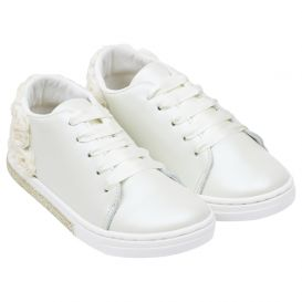 Ivory Flower Trainers