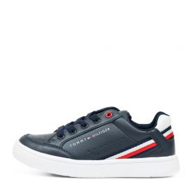 Navy & White Trainers